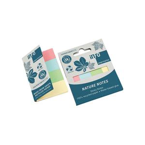 Märkflikar 20x50mm Pastell 4x40st/fp