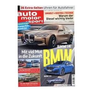 Tidningen Auto Motor Und Sport (German Edition) 26 nummer