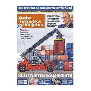 Tidningen Auto, tekniikka ja kuljetus 10 nummer