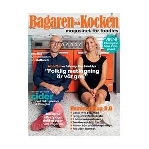 Tidningen Foodies – Nya Bagaren och Kocken 3 nummer