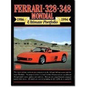 Acer Ferrari 328 348 Mondial Ultimate portfolio av redigerad av R M Clarke
