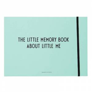 Design Letters The Little Memory Book Blå One Size