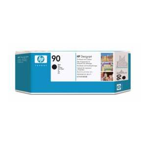HP 90 / C5054A svart printhoved - Original