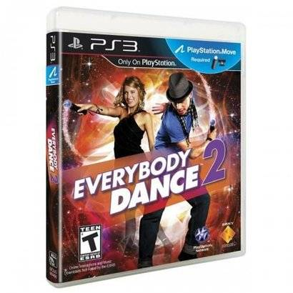 Game Ps3 Everybody Dance 2 - Unissex