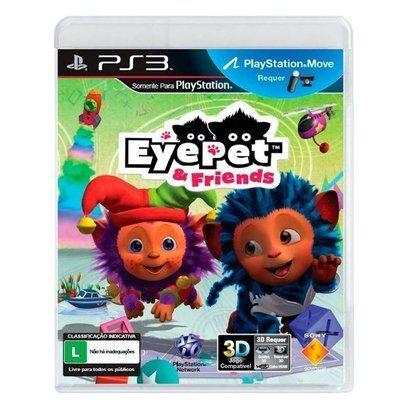 Jogo Eyepet & Friends - PS3 - Unissex