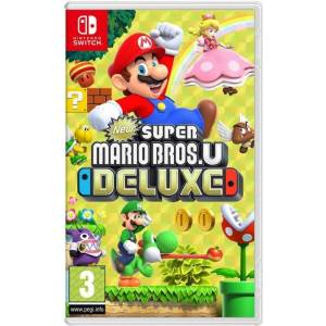 New Super Mario Bros. U Deluxe (uk, Se, Dk, Fi) - Nintendo Switch