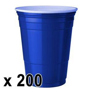 StudyShop 200 kpl. Blue Cups Mukeja (473 ml./16 Oz.)