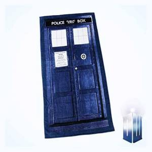 Doctor Who Tardis badehåndkle