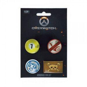 Gaya Entertainment Overwatch - Roadhog Pin 4-Set