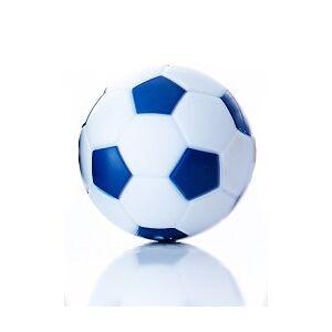 Fodbold hvid/blå, 35 mm