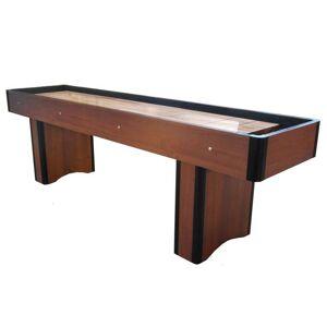 Sardi 9 fods shuffleboard i nøddebrun