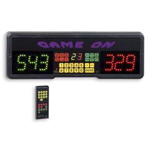 Favero Game On elektronisk scoretavle til dart m/ fjernbetjening