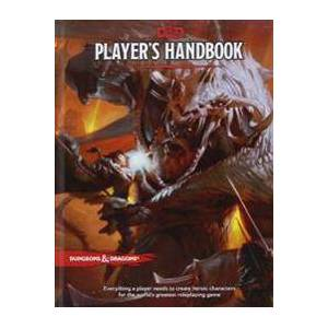 Wizards of the Coast Dungeons & Dragons Player's Handbook (Dungeons & Dragons Core Rulebooks) Sidottu