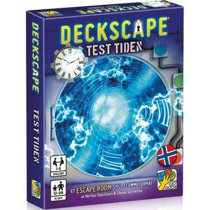 Deckscape Test Tiden Kortspill Norsk utgave