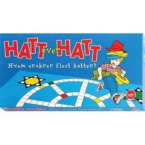 Hatt over Hatt Brettspill Hvem erobrer flest hatter?
