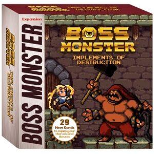 Boss Monster Implements of Destruction Utvidelse til Boss Monster Card Game