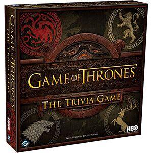 Game of Thrones Trivia Game Kortspill Test kunnskapene dine om TV-serien!