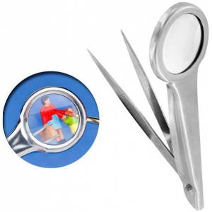 Vallejo Tweezers w/ Magnifier Pinsett med forstørrelsesglass