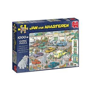 Jan Van Haasteren Puslespill 1000 Deler Jumbo Goes Shopping!
