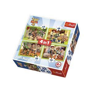 Trefl Puslespill 4-i-1 Toy Story 4: Toy Team