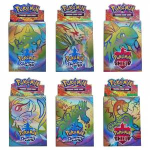 25PCS Cards Per Random Box New POKEMON Sword and Shield Card English Version Battle Collection Card Box Kids Toy Gift