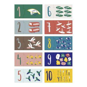 Sebra Tellepuslespill, 1-10, Little Driver/Singing Birds