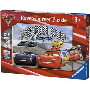 Puslespill Ravensb 2X12 Disney Cars 3