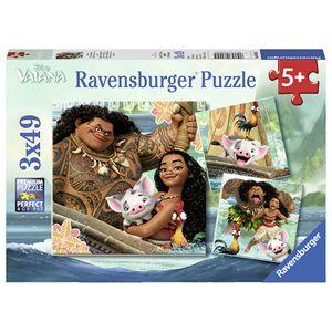 Puslespill Ravensb 3X49 Disney Vaiana