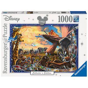 Puslespill Ravensburger Disney Lion King 1000