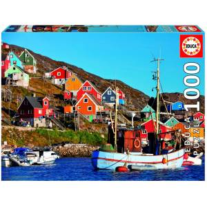 Puslespill Educa 1000 Nordic Houses