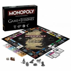 Gardners Game Of Thrones Monopoly Board Game
