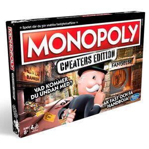 Hasbro Monopol: Cheater's Edition SE 8+ år