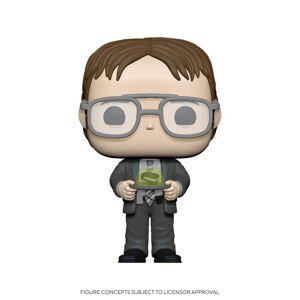 The Office US POP! TV Actionfigur Dwight w/Jello Stapler 9 cm