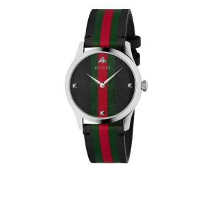 Gucci G-Timeless Watch Black One Size