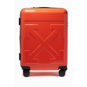 """Off-White Arrows """"FOR TRAVEL"""" Trolley"""