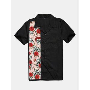 Newchic Men Bowling Shirt