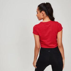 MP Women's Rest Day Twist Front T-Shirt - Danger - XL