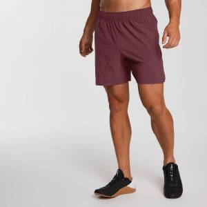 MP Men's Essentials Training Shorts - Oxblood - XXL