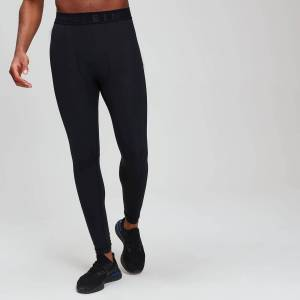 MP Men's Essentials Training Leggings Baselayer - Black - M