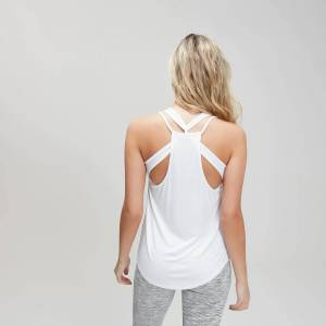 MP Women's Essentials Training Escape Vest - White - XS