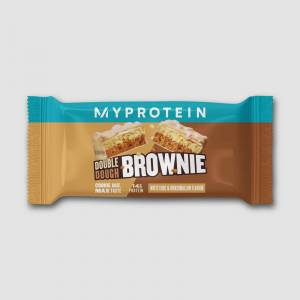 Myprotein Double Dough Brownie (Sample) - 60g - White Chocolate and Marshmallow