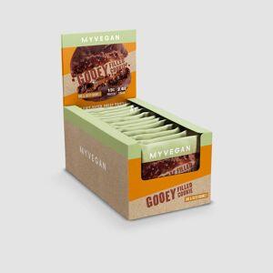 Myprotein Vegan Gooey Filled Cookie - 12 x 75g - Double Chocolate & Caramel