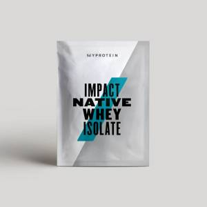Myprotein Impact Native Whey Isolate (Sample) - 25g - Natural Vanilla