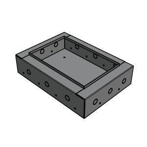 Apart CMRQ108CBBI - Einbaugehäuse zur Wandmontage CMRQ108C