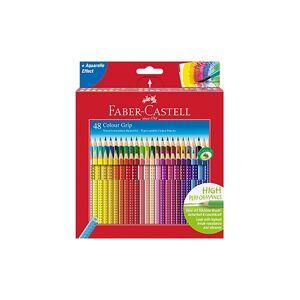 FABER-CASTELL Colour Grip Buntstift, 48er Kartonetui bunt