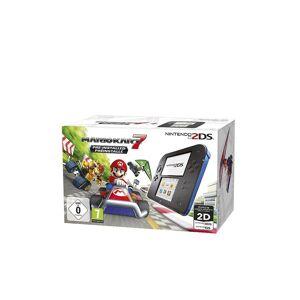 Nintendo 2DS Konsole (schwarz) inkl. Mario Kart 7 (vorinstalliert)