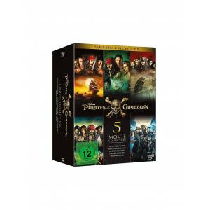 DVD Pirates of the Caribbean 5 (Movie Collection)