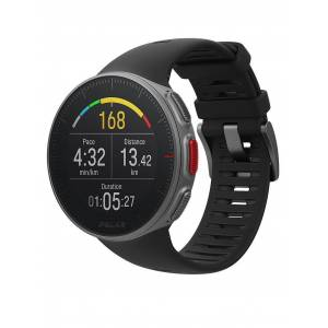 POLAR GPS-Multisport-/Triathlonuhr Vantage V schwarz
