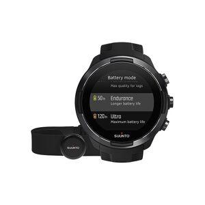 SUUNTO GPS-Multisportuhr 9 Baro + HR-Gurt schwarz