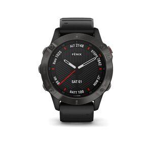 Garmin GPS-Sportuhr Fenix 6 Sapphire schwarz